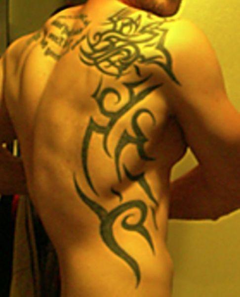 Wzory Tatuaży Tribal Tribal Na Plecach