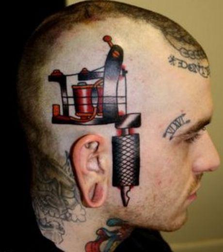 Tatuaż Na Głowie