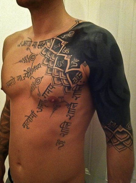 amazing shoulder tattoo