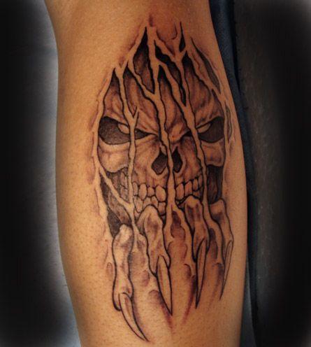 demon tattoo 765