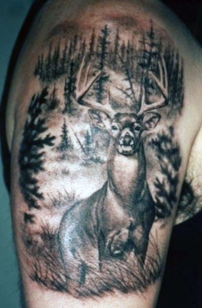 Deer Arm Tattoo