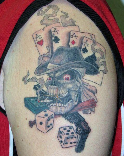 Tatuaze Na Ramie Czaszka