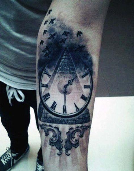 Tatuaże Zegary