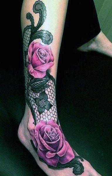 tatuaże dla dziewczyn róże