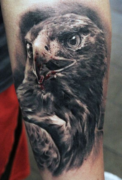 eagle 3d tattoo