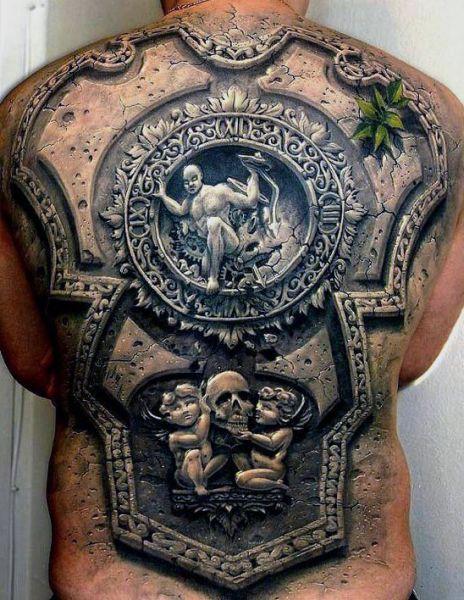 amazing 3d tattoo design