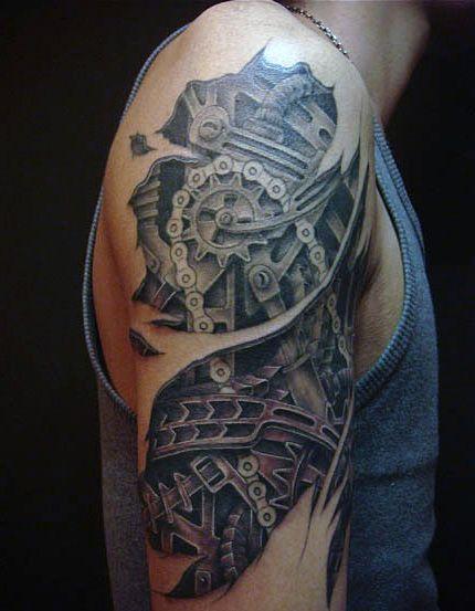 Tatuaże 3d Sowa