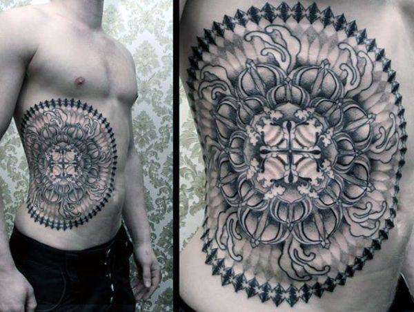 incredible man tattoo