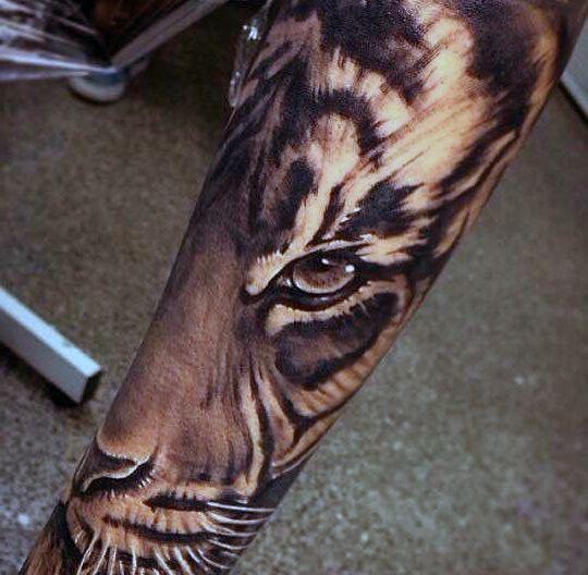Tatuaże Damskie Wilk Na Plecach