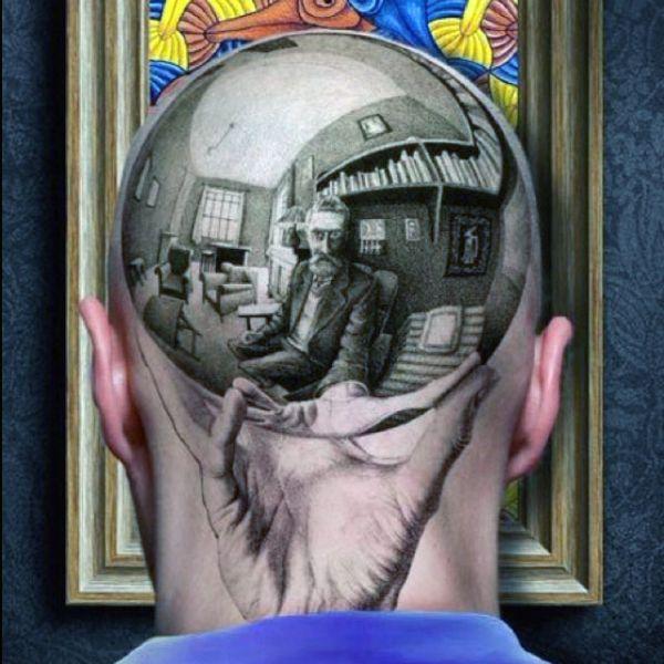 tattoo on head 3d