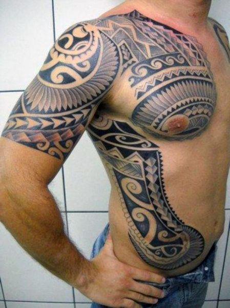niesamowity męski tribal