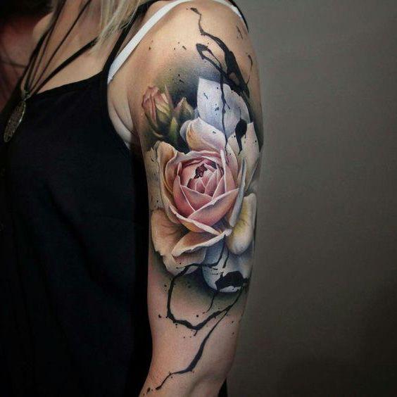 piękny kwiat na ramie