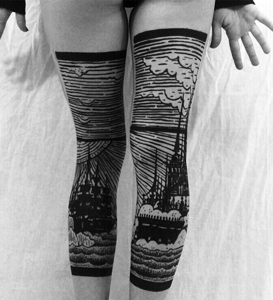 incredible legs tattoo