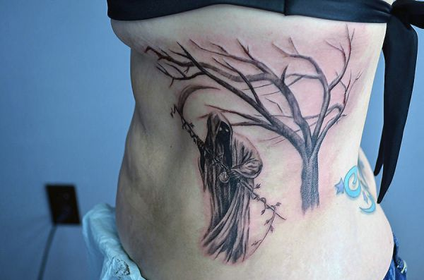 death side tattoo