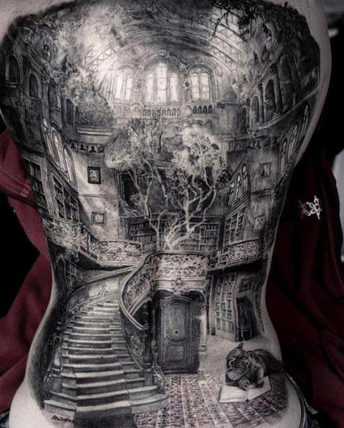 amaizing back tattoo