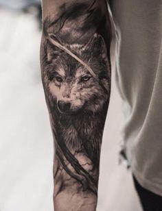 wolf 3d tattoo