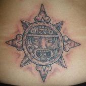 azteckie słońce
