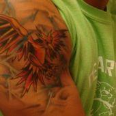 tatuaż phoenixa