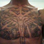 Chrystus na piersi