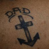 krzyż kotwica