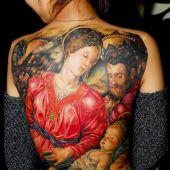 tatuaż Bożonarodzeniowy