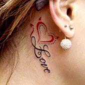 serce za uchem