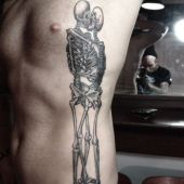 skeletors love tattoo