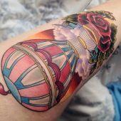 tatuaż balon