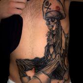 tatuaż pirata
