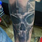 tatuaże męskie czaszki