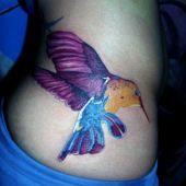 tatuaże dla dziewczyn koliber