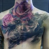 tatuaże męskie 3d