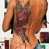 tatuaże dla dziewczyn motyl
