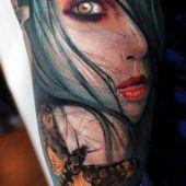 tatuaże na przedramieniu kobieta