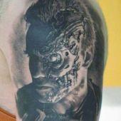 tatuaże 3d terminator