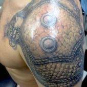 tatuaże 3d męskie na ramie