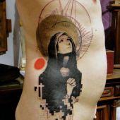 tatuaże religijne 3d