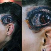 realistic eye tattoos