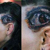 realistic eye tattoos