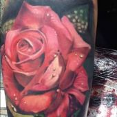 tattoos 3d rose