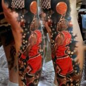 michael jordan tattoo