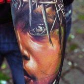 tatuaże na ręce 3d