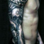 tatuaże męskie na ręce