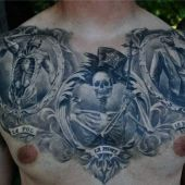 skulls man tattoo