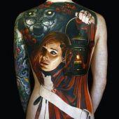 tatuaże  3d czerwony kapturek