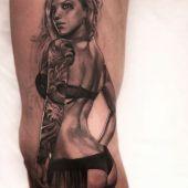 tatuaż kobiety