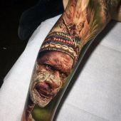 jungle man tattoo