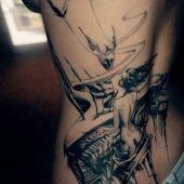 lower back tattoo amazing