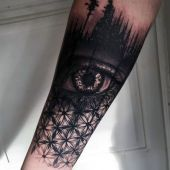 tattoo 3d incredible eye