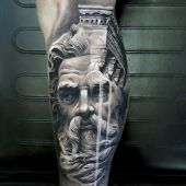 tatuaże 3d zeus